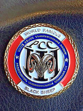 RARE & Authentic WHCA Presidential Command PCC III Black Sheep COIN   -129