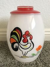 Mid Century Bartlett Collins Rooster Cookie Jar - Hand Painted