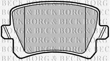 BBP2044 BORG & BECK REAR BRAKE PADS fits VW Passat Tiguan 08- NEW O.E SPEC!