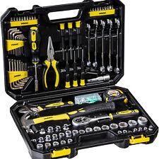 Werkzeugkoffer Werkzeug Set WMC Tools 128 Teile Kasten Box Kiste Heimwerker Bits