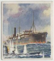 "WWI British ""Q"" Ship decoy Anti-Submarine  Vessels c80 Y/O Trade Ad Card"