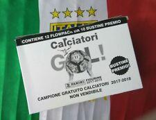 Album calciatori 2017 2018 panini 1 BOX GOL con 120 bustine SIGILLATO