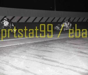 1966 Midget Race Cars #4 / #24 - USAC Altamont Speedway - Vintage B&W Negative