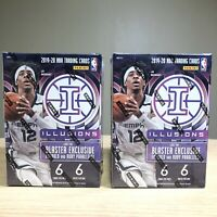 2 BOXES 19-20 Panini Illusions Basketball NBA Blaster Cards Sealed Zion Rookie?