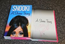 NICOLE SNOOKI POLIZZI SIGNED A SHORE THING BOOK JERSEY AUTOGRAPH