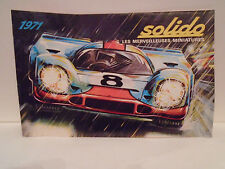 1971 SOLIDO DIECAST TOYS 24 PAGE CATALOG IN MINT CONDITION