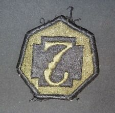 US Army 7th Medical Command Patch Subdued