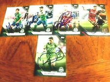 Seattle Sounders FC 2019 TOPPS Partially signed TEAM SET cards Current Roster!!!