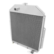 Champion 3 Row Aluminum Radiator CC4252CH For 1942-1952 Ford Truck Chevy Engine