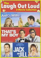 Jack and Jill / Just Go with It / That's My Boy (DVD) - NEW!!