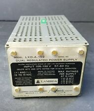 LAMBDA ELECTRONICS TDK Power Supply 12 to 15 VDC Model LXD-A-152