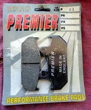 Honda HURRICANE INTERCEPTOR BRAKE PADS Front 86-89 PREMIER P41 2 PAIR