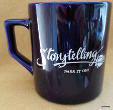"Storytelling Mug ""Storytelling.Pass it on."" 4"" Black"