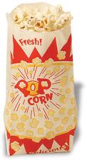 Popcorn Machine supplies 1000 one oz popcorn bags