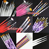 Nail Art Pen Brush UV Gel Acrylic Painting Drawing Liner Polish Brush Tips Set