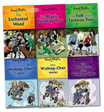 Wishing Chair and Magic Faraway Tree Series 6 Books The Magic Faraway Tree,AUS