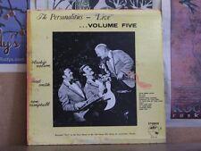 THE PERSONALITIES, LIVE VOL 5 - PRIVATE PRESS LP ALP-83