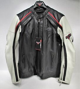 Genuine Victory Motorcycle Cascade Leather Riding Jacket Women's Large 286373506