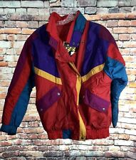 Vintage 80s Izzi Ski Puffer Jacket Coat Small