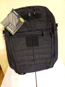 5.11 Tactical Rush 24 Pack Backpack Survival BLACK Bug Out Medical Outdoors