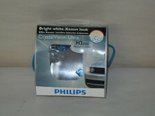 PHILIPS H3 CVS2 CRYSTAL VISION ULTRA WHITE XENON LOOK PACK OF 2