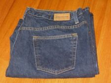 Women's Evan Picone Dark Blue Cotton Regular Jeans Size 18 37 x 30 Exc Cond