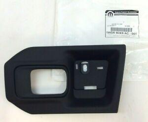 RAM 1500 2500 3500 4500 5500 front driver side black Door Handle Bezel new OEM