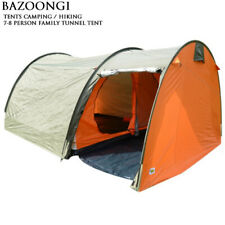 Bazoongi Camping Outdoor Hiking Tent 7-8 Person Family Tunnel Tent Waterproof