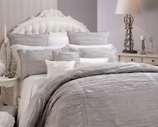 New PRIVATE COLLECTION ISABELLE SILVER QUEEN Quilt Doona Cover Set RRP $279.95!