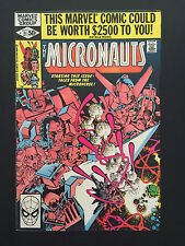 Comic Marvel, The Micronauts They Came From Inner Space, # 21 Sept 1980