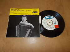 JACKY NOGUEZ  - FRENCH EP POP 2330 / LISTEN - LATIN JAZZ ROCK CHA CHA POPCORN