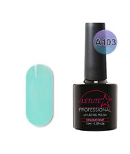 A103 LETUTE™ Turquoise Blue A Series Soak Off Gel Nail Polish 10ml