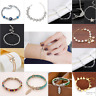 Charm Women Ladies Crystal Gold Silver Plated Bangle Cuff Bracelet Jewelry Gift