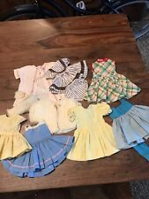 """16""""Terri Lee Vintage Doll Clothes 10 Piece Lot 2 Tagged Dresses"""
