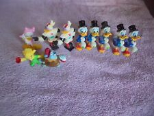 Kelloggs Disney Lot 1991 Toy Figure Darkwing Duck Gummi Bears PVC Collection 10
