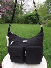 Baggallini Everyplace Crossbody Shoulder Bag Water-resistant Nylon in Black