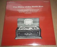 THE STORY OF THE MUSIC BOX From Brown Collection - Caedmon TC 1391 SEALED