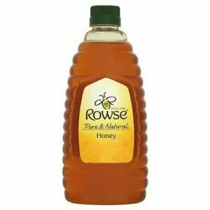 Rowse Squeezy Clear Honey Syrup Pure Natural Sweet Creamy Smooth Large 1.36kg