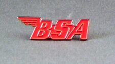BSA - PIN BADGE  - BIKE BIKER MOTORBIKE MOTORCYCLE   (NB-04)
