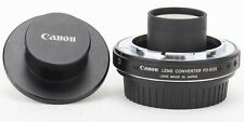 Canon FD-EOS 1.26x Lens Mount Converter FDEOS Genuine Original [SOLD AS IS]