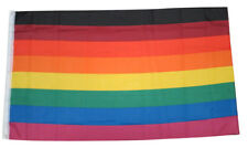 Rainbow Flag Pride Flag 8 Stripes Philly Gay Lesbian LGBT Equality 3x5 Feet