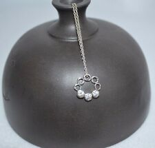 "Cubic Zirconia ""Le Circlette"" Necklace - Ret Silpada - N2445 - Sterling Silver &"
