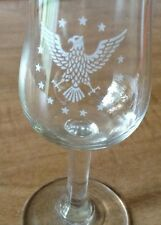 Vtg Pan Am Airlines First Class Cordial Glass The President Special PAA set of 6