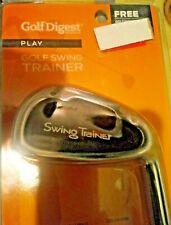 Golf Digest Golf Swing Trainer w/Training Grip Standard Teaching Aid, Right Hand