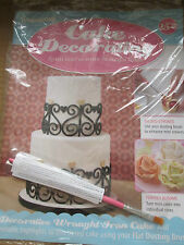 Deagostini Cake Decorating Magazine ISSUE 152 WITH FLAT DUSTING BRUSH