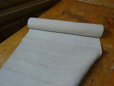 A Homespun Linen Hemp/Flax Yardage 6 Yards x 20'' Plain  # 8321