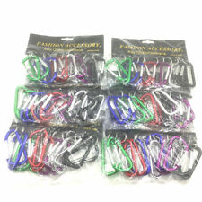Lot of 60 Carabiner Spring Belt Clip Key Chain 3