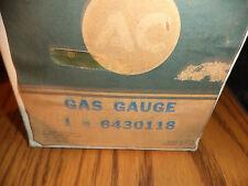 NOS GM AC Delco 1965 Chevy Impala Caprice Bel Air Biscayne Fuel Gauge # 6430118