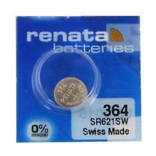 Renata 364 (SR621SW) Swiss Made Watch Battery - Brand New
