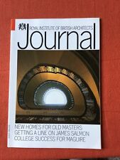 RIBA Journal Aug 1990 Pembroke College Winter Gardens James Salmon Royal Society